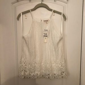 NWT Lace Halter Top